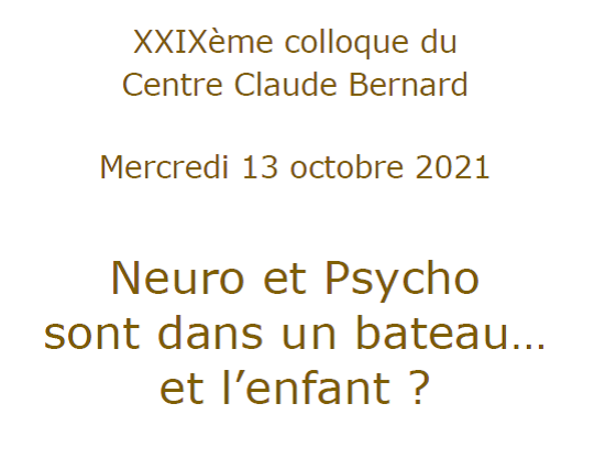 Colloque 2021